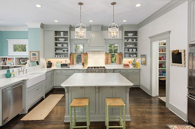 House Of Turquoise Colordrunk Designs Kitchen Cool
