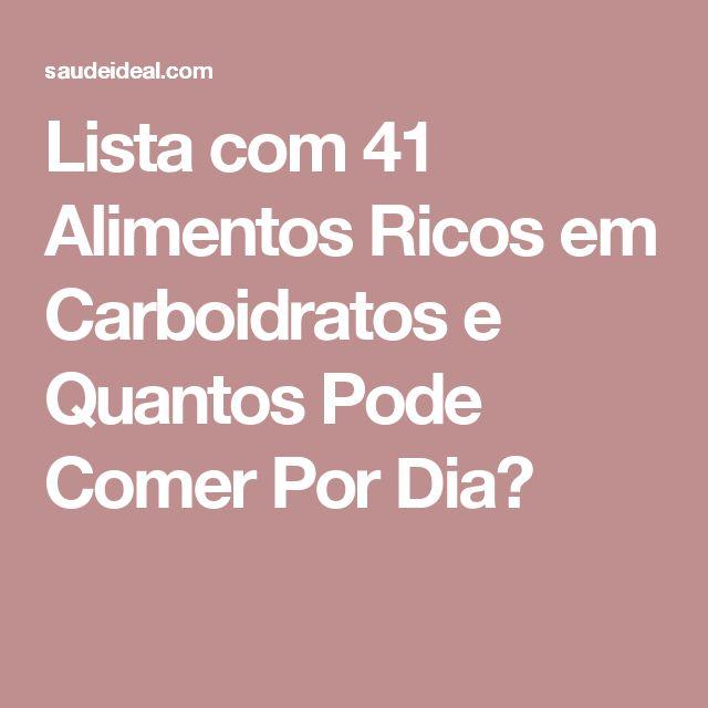 25 best ideas about alimentos com carboidratos on pinterest alimentos carboidratos tabela - Alimentos ricos en gluten ...