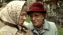 """Last of the Summer Wine - When Pearl asked how you keep a husband from straying - Edie: """"It doesn't help looking like you just had a serious operation."""""""