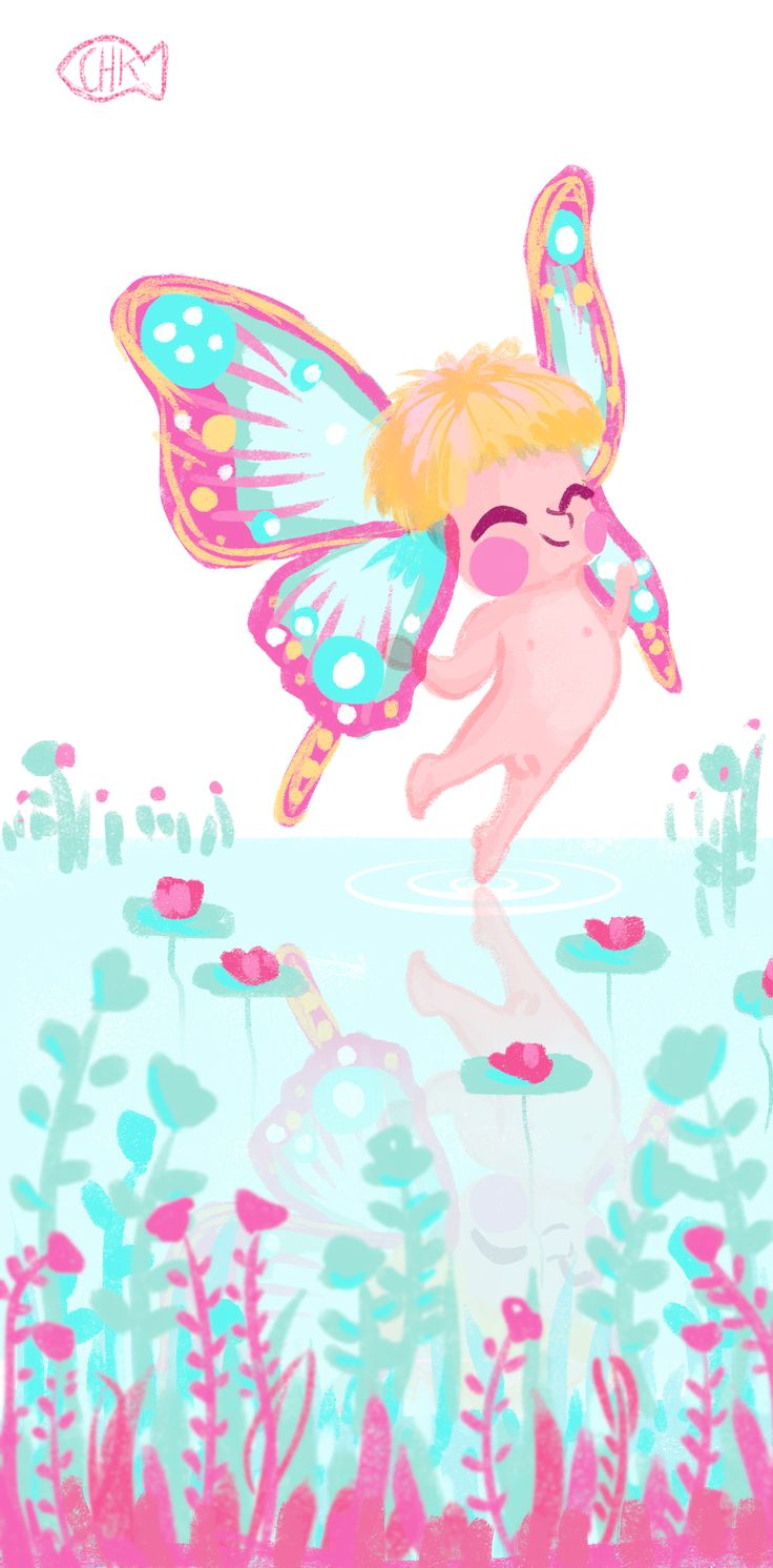 Daily spitpaint, ear wings, digital drawing