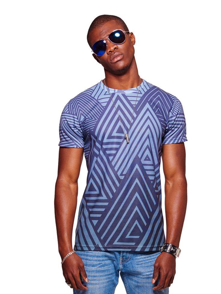 Indigo Forest Men's Classic T-Shirt - Nuvango