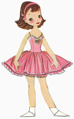 Betsy McCall Paper Dolls: the first ten years - free printables!