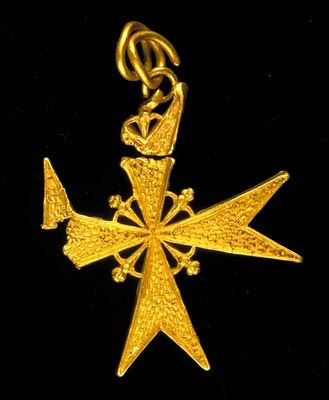 "A gold pendant from the Spanish Armada warship ""Girona"" sunk near the Giant's Causeway (1588 AD)"