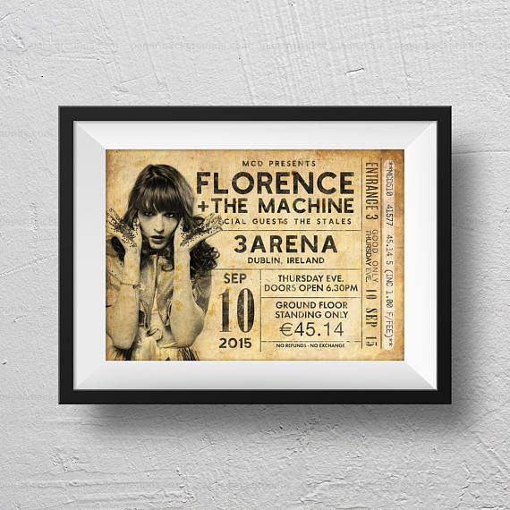 Florence and the machine poster Florence and the machine