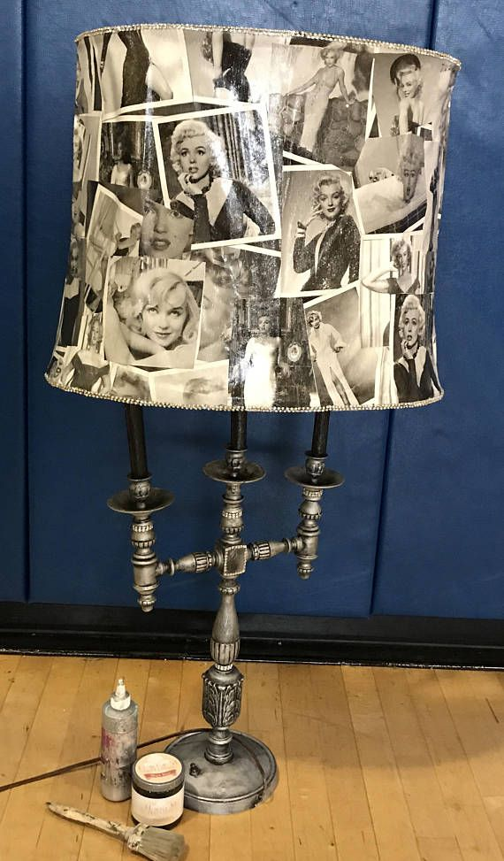 Custom Marilyn Monroe Lamp Marilyn Monroe Decor Decor Marilyn Monroe Room
