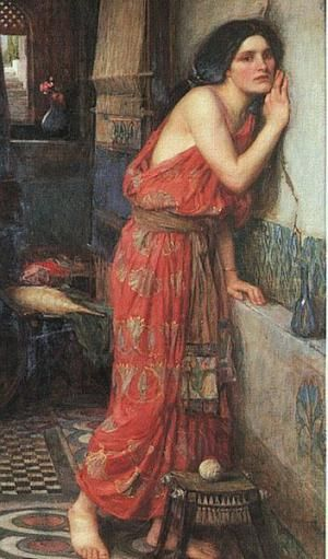 Thisbe, by John William Waterhouse 1909. - Public Domain. Courtesy of Wikipedia.