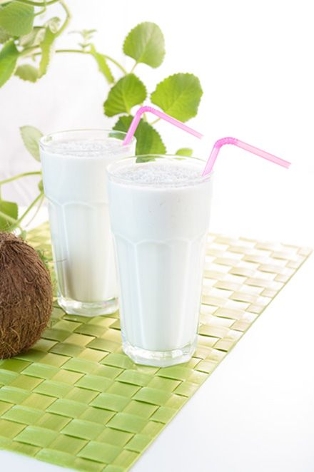 Koktajl białkowy kokosowy #koktajl #białkowy #kokos #shake #protein #coconut #cocktail