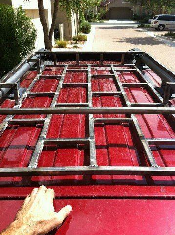Homemade Roof Basket | Chevy Tahoe Forum | GMC Yukon Forum | Tahoe ...