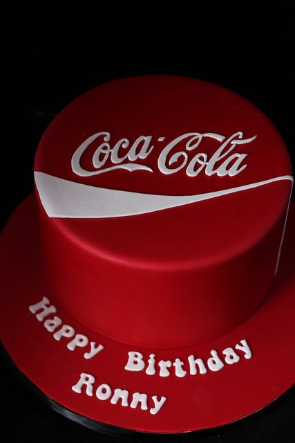 Coca Cola cake by Andrea's SweetCakes, via Flickr