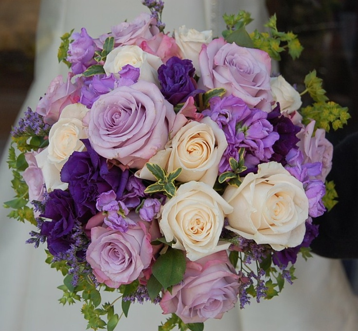 37 Best Purple And Orange Wedding Flowers Images On