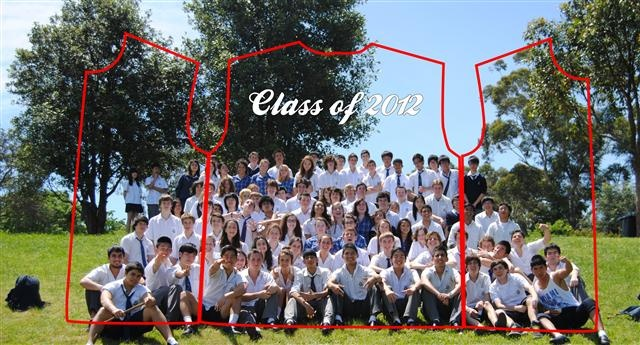 St Ives High School Class of 2012 Muck Up Photo
