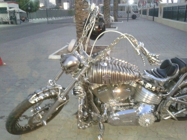 Skeleton Harley