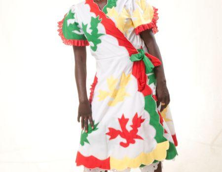 Trotse Surinaamse vrouw met Afrikaanse roots