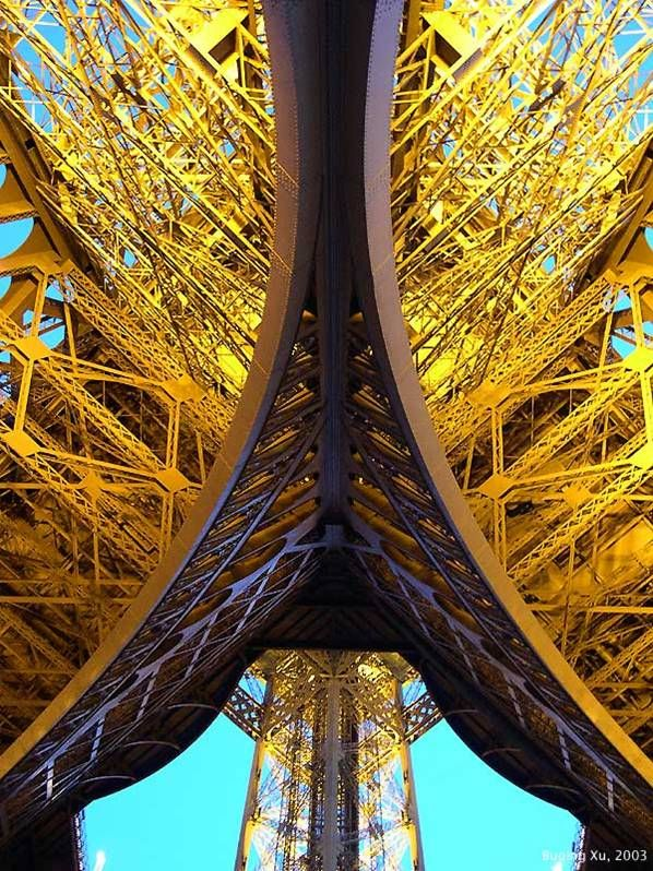 The Eiffel Tower: Different Perspectives