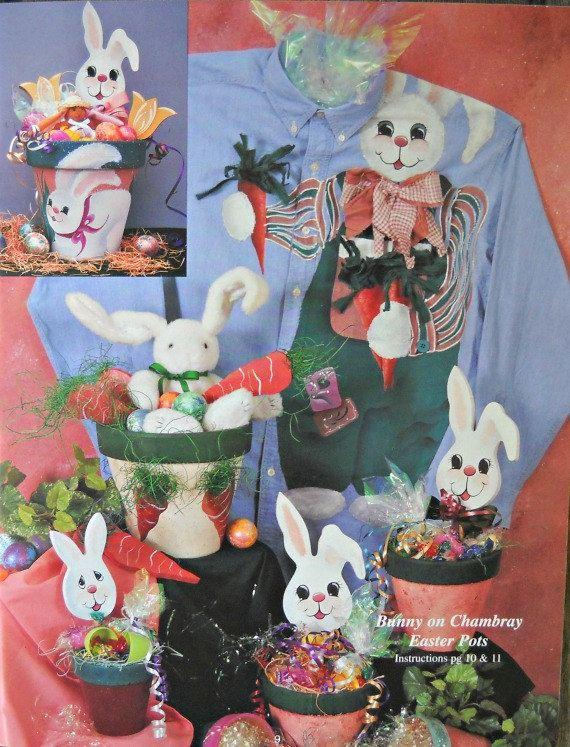 Este bote es para usted... Además de libro de pintura decorativa, por Margaret gays, CDA y Kim Gay. Muy buen estado. 31 páginas. Cubierta suave. Derechos de autor de 1994 Este folleto de pintura decorativa hermosa incluye 16 proyectos con encanto, Información General, instalación de pintura y técnicas pictóricas. Diseños todos aparecen a todo color e incluyen instrucciones detalladas de la pintura. Los diseños incluyen pie Bunny, Bunny en Chambray, ollas de barro de la semana Santa…