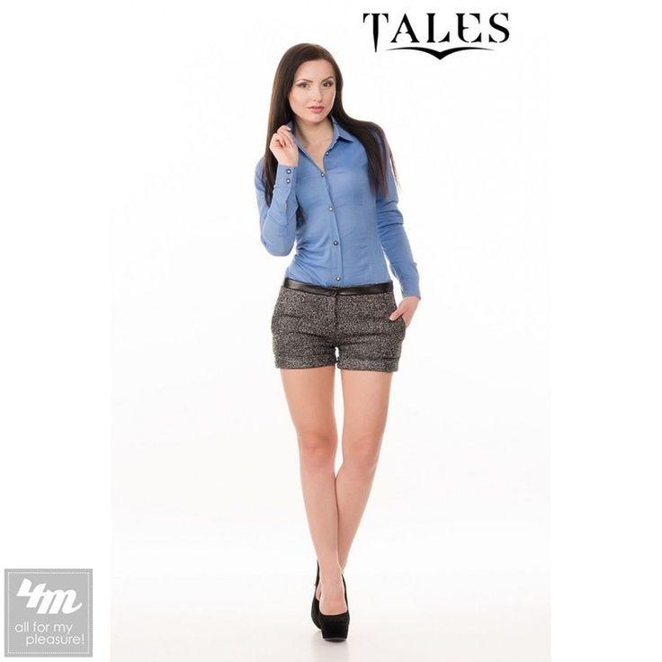 Боди Tales «Ray» (Голубой)  Очаровательное, женственное боди выполненное из натурального материала с застежкой на пуговицы. Верх боди сделан ввиде рубашки с воротником и манжетами. Изделие приталенного кроя имеет великолепную посадку по фигуре. Благодаря модному фасону изделие отлично сочетается как с юбками, так и с брюками или джинсами. Вы по достоинству оцените комфорт и изысканность этой модели. Для ухода за изделием рекомендована деликатная или ручная стирка с самым щадящим…