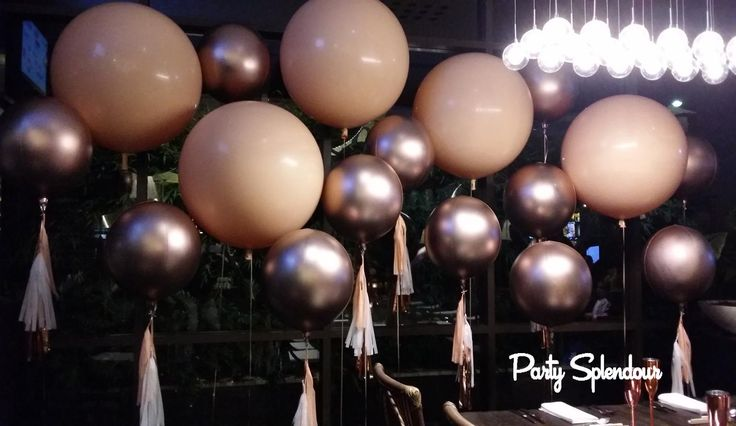 Rose Gold Party Decorations Sydney