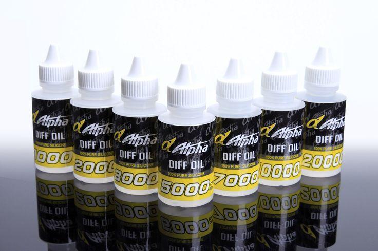 Alpha Diff Oil CPS #2000 #3000 #5000 #7000 #10000 60c.c.