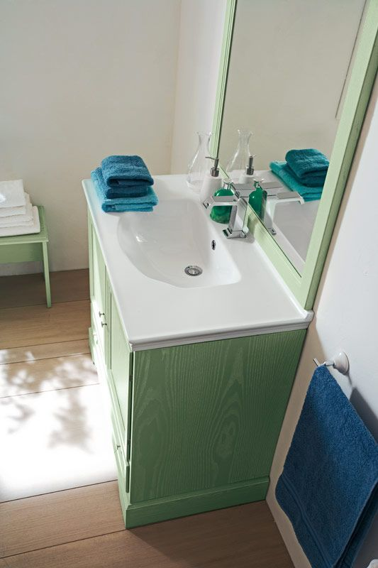 Oltre 25 fantastiche idee su arredo bagno verde su - Bagno verde salvia ...
