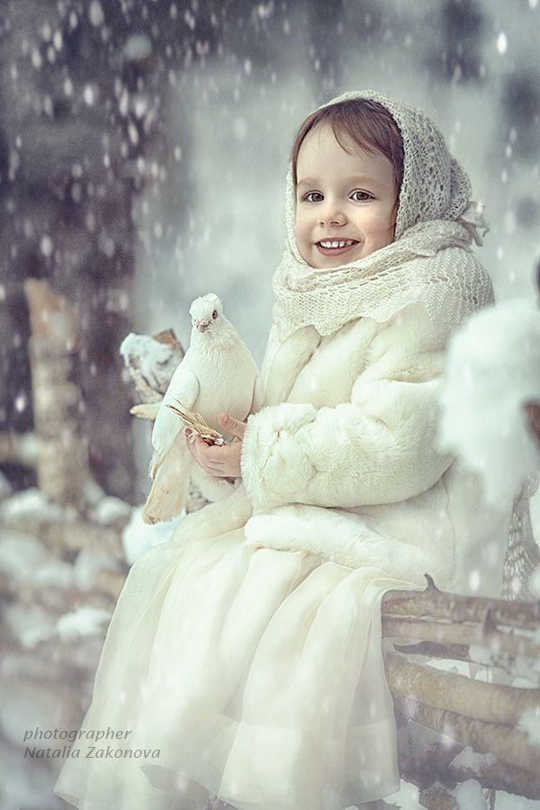 Winter's child ~ snow scene ~ bokeh                                                                                                                                                                                 More