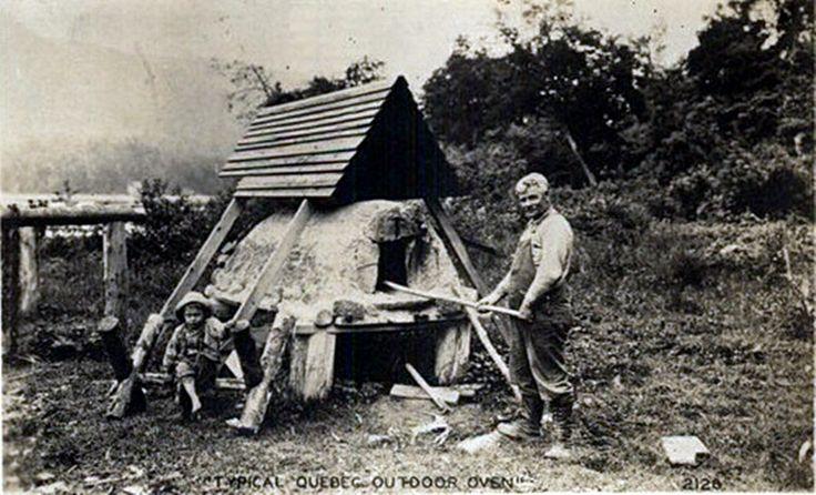 Quebec outdoor oven c1940