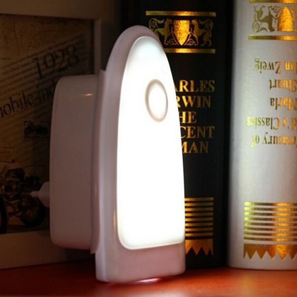 Wireless PIR Motion Light Sensor LED Night Lamp For Bedroom Bedside Hallway