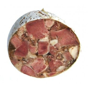 Disznósajt, Hungarian Style Headcheese | Disznósajt - pork head cheese, is made of mixed meat slices, spices, paprika, and pieces of bacon cooked in spicy stock. - See more at: http://fabko.com/head-cheese/3163-disznosajt-hungarian-cheadcheese.html#sthash.7FkqwLbq.dpuf