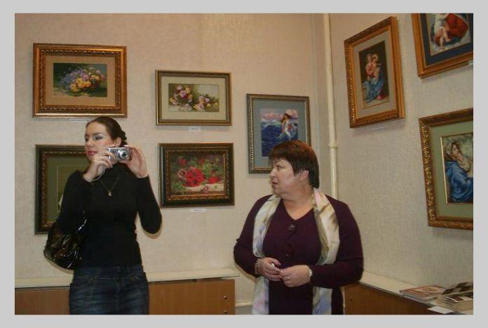 """Выставка в Музее истории завода """"Красное Сормово"""", 2010 год"""