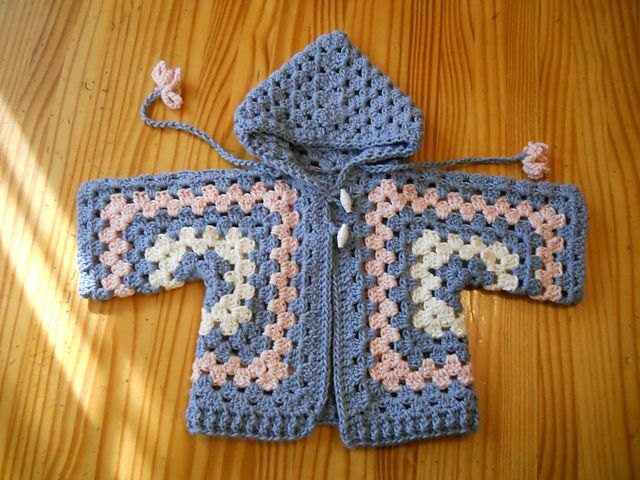 Knit Pattern Hexagon Sweater : Ravelry: Project Gallery for Bevs Hexagon Baby Jacket ...