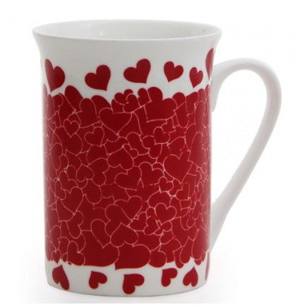 Sip your favorite coffee or tea in this attractive mug. This mug features a falling hearts design which makes it a nice addition to a drab desk. Not only that, the ceramic used to make this 4 inches high mug is of a durable nature and can withstand most hot liquids. Unique color changing feature of this mug makes it a great gifting option.