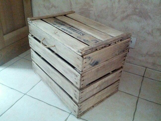 63 best images about vente de mes cr ations en palette et caisse a pomme on pinterest facebook. Black Bedroom Furniture Sets. Home Design Ideas