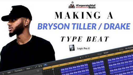 Making A Bryson Tiller x Drake Type Beat In Logic Pro X #logicpro #rap #beats #brysontiller