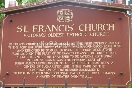 St Francis' Church in Melbourne