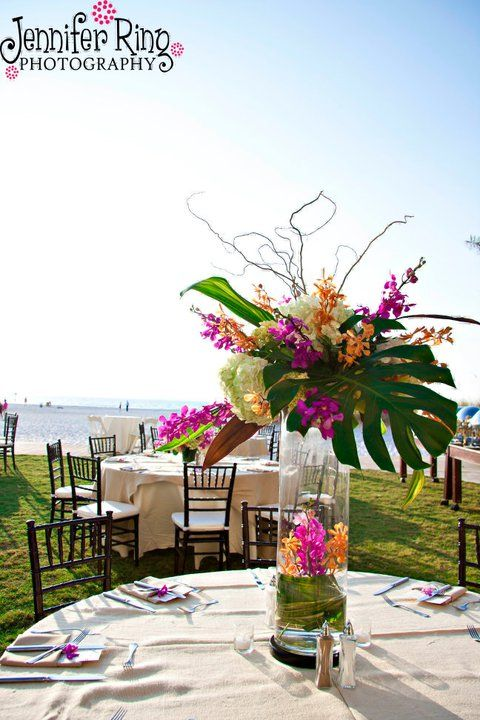 Flowers designed by The Bride's Bouquet 727.785.2562