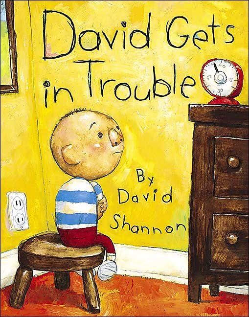 The feisty and adorable little star of No, David! and David Goes to School returns, but this time, the young rascal finds his voice, telling us all his favorite excuses for when he gets in trouble.