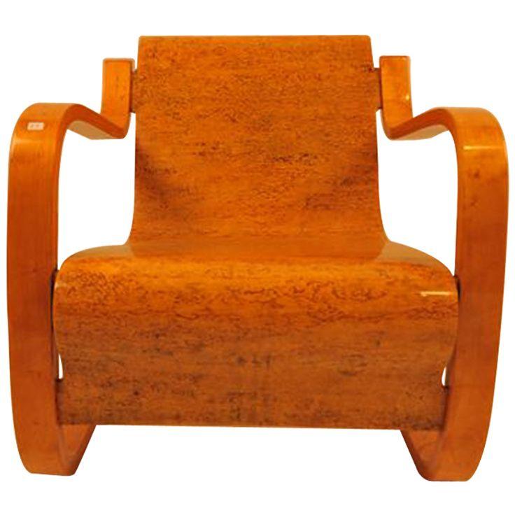 1stdibs   Cantilever lounge chair by Alvaar Aalto