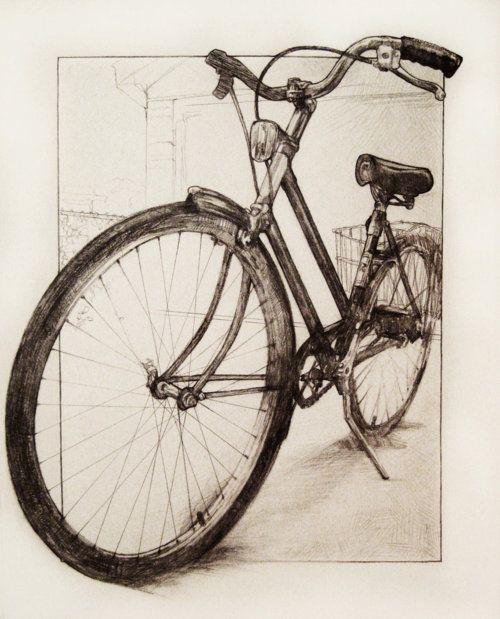 Audrey Benjaminsen #bike #illustration