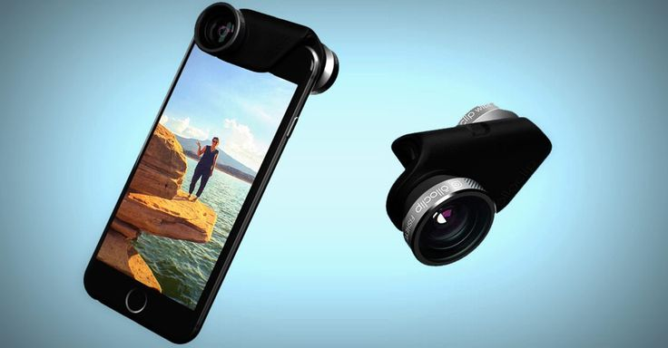 Olloclip went back to the drawing board and cooked up a photo add-on lens for both new iPhones. It even augments selfies.