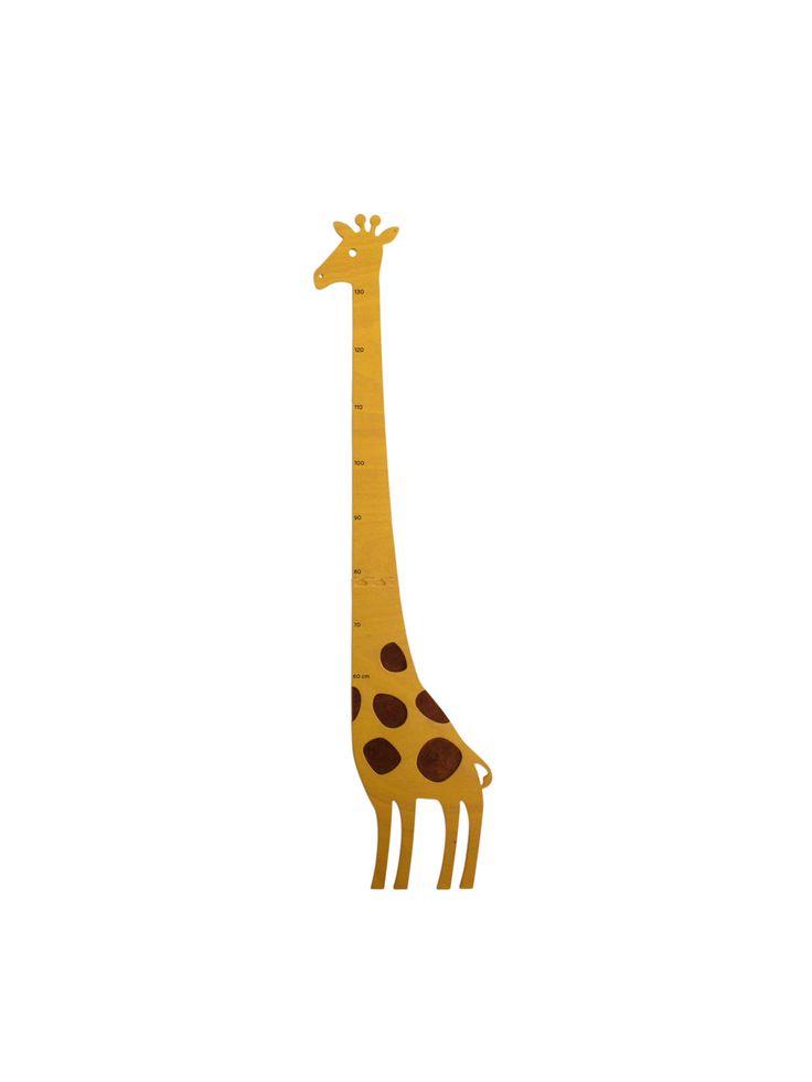 """Metro, asta da parete misura altezza bambini """"Giraffa"""", idea regalo per battesimo, nascita, compleanno di MAMMprogetti su Etsy"""