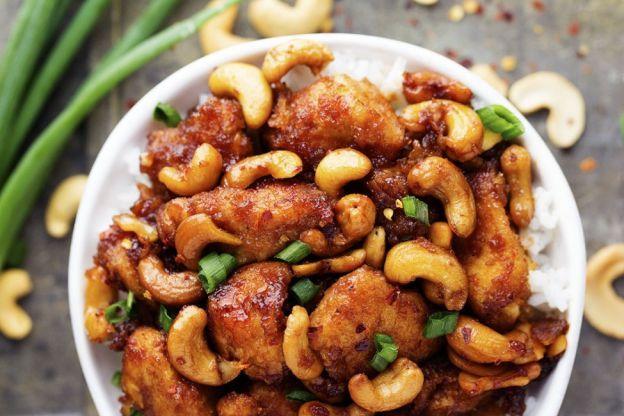 Recette facile de poulet et cajou à la mijoteuse!