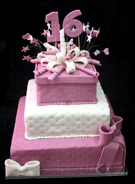Cake Designs For 16th Birthday Girl : 10 best ideas about 16th Birthday Cakes on Pinterest 16 ...