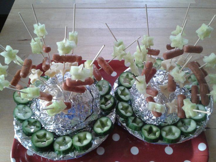 Gemaakt voor het kerstdiner- buffet van mijn kinderen.