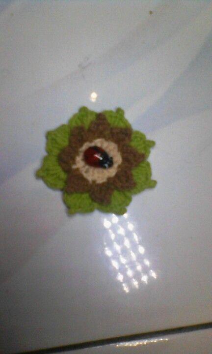 My brooch crochet
