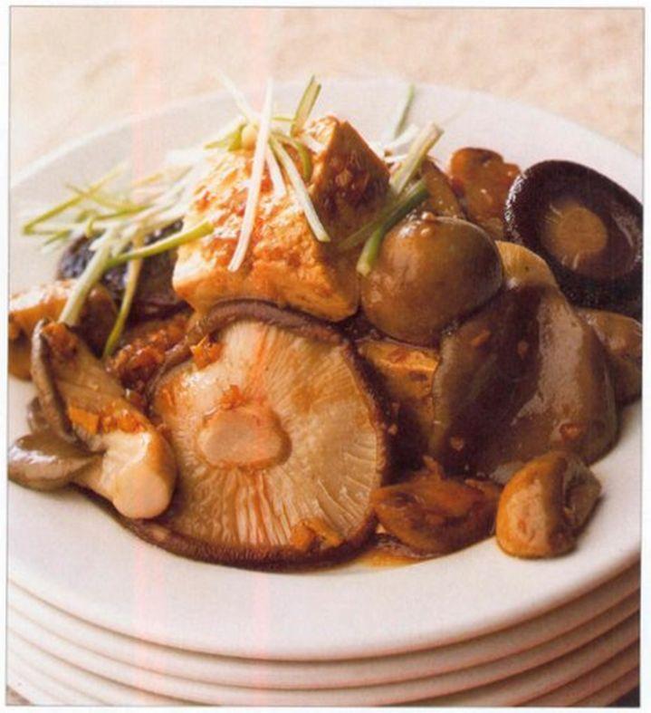 ASV 4 : Braised Tofu with Mushroom