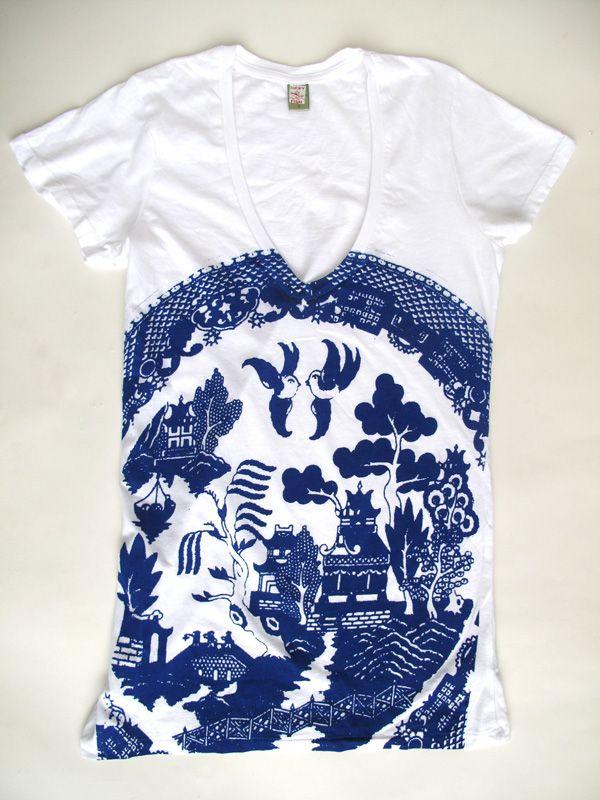 Blue Willow shirt