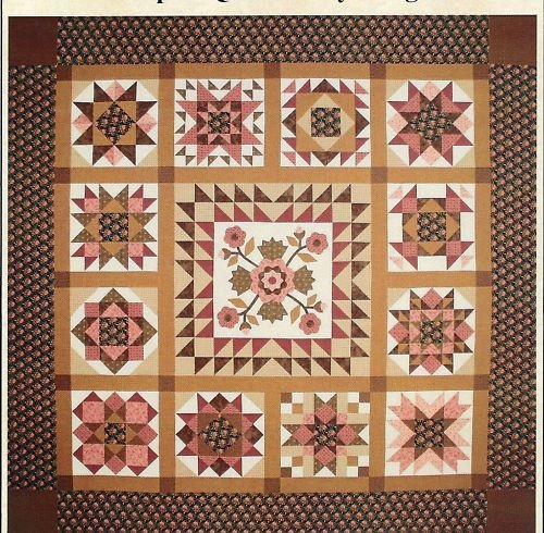 Quilt Patterns For Mother S Day : 17 Best images about Quilting - Samplers on Pinterest Block of the month, Pinwheels and Border ...