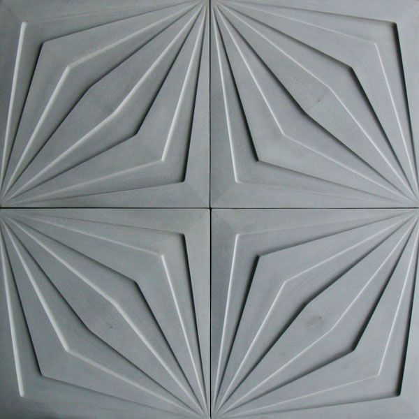Looks Like It Comes From The Film Metropolis This Is Comp Star Concrete Tile In Natural Gray Arto Brick