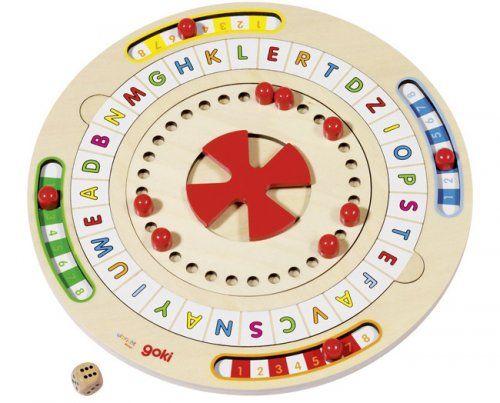 Ο τροχός των λέξεων/ Board game word mill & master of maths