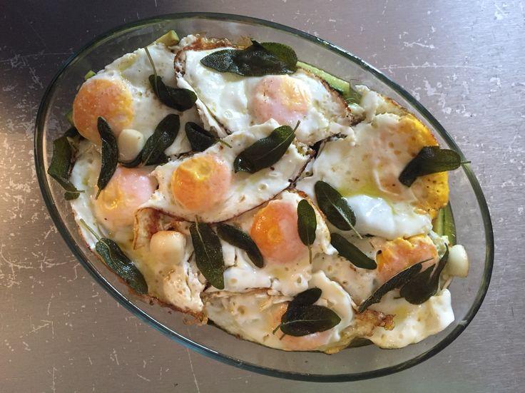 carpione di uova e zucchine