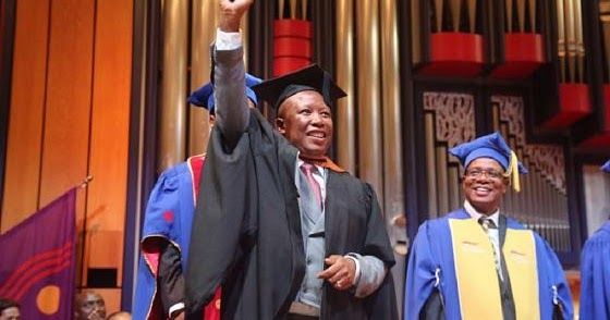 South African opposition firebrand Julius Malema has been awarded a Bachelor of Arts Honours degree in Philosophy by the University of South Africa (UNISA) in Pretoria.  This is his second first degree after graduating from the same university last year with a Bachelor of Arts degree in Communications and African languages.  The 36-year-old leader of the Economic Freedom Fighters (EFF) party and a Member of Parliament said it was a challenge especially marrying his political life with…